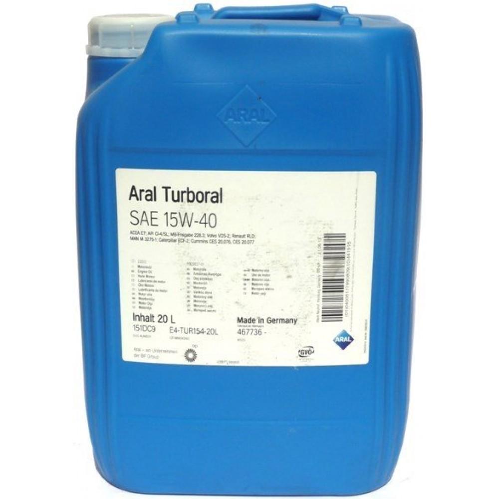 ARAL Turboral 15w40 20lt