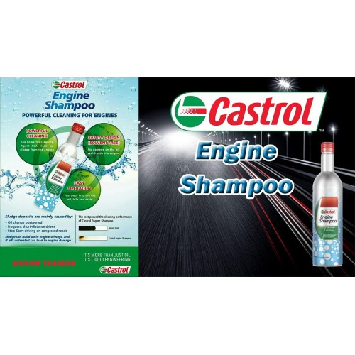 CASTROL ENGINE SHAMPOO 300ml
