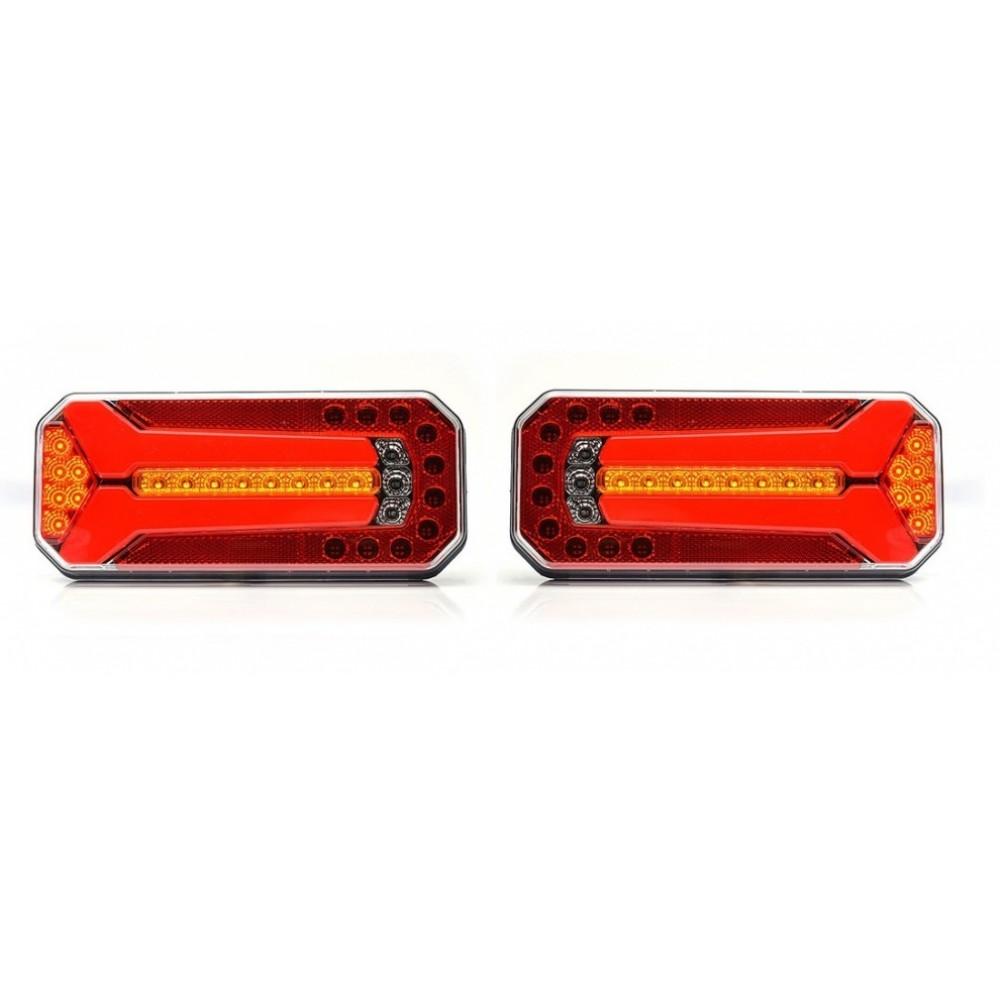 LED Neon Е-Мark Φανός Οπίσθιος 12V-24V Φρένων-Φλας-Πορείας