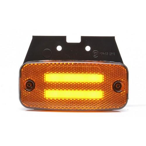 LED Φωτιστικό Πλευρικής Σήμανσης με Βάση και Е-Mark 12V και 24V IP68 1 Τεμάχιο