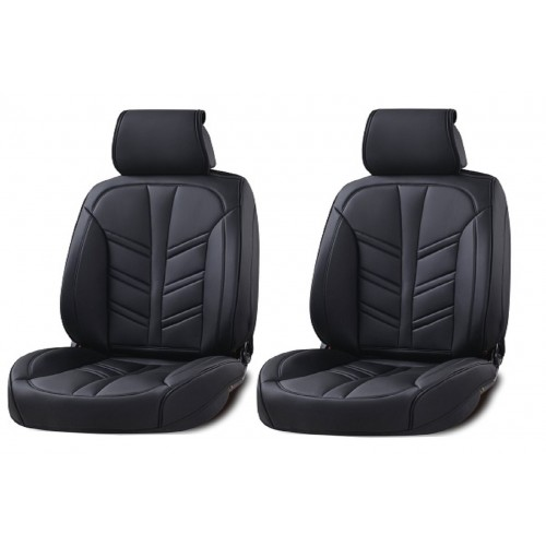 SHOPBATTERY Καλύμματα Αυτοκινήτου Δερμάτινη Ταπετσαρία Για Μπροστινά Καθίσματα 2 Τεμάχια-TAP826.SB