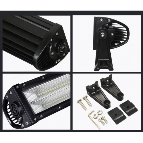 LED Μπάρα Κυρτή 7D 2 Σκάλες 696 Watt 10-30 Volt DC Ψυχρό Λευκό 1045mm