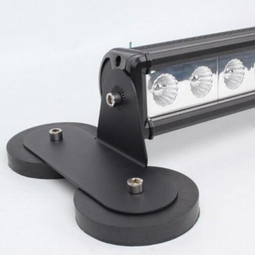 Μαγνήτης Βάση 88mm για LED Μπάρα 10-30V για Γρήγορη Σύνδεση