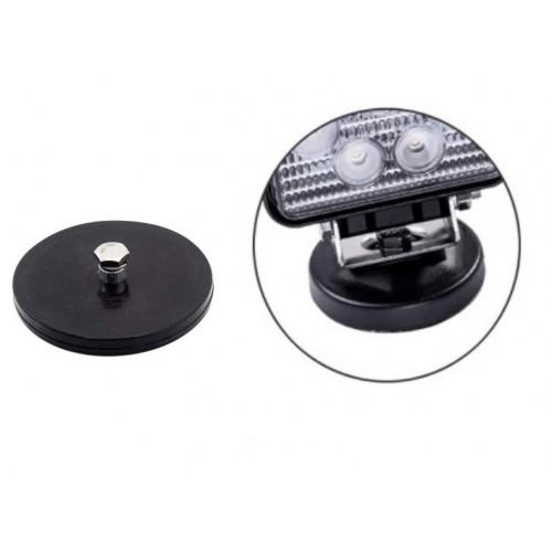 Μαγνήτης Βάση 88mm για Προβολείς LED 10-30V για Γρήγορη Σύνδεση 1 Τεμάχιο