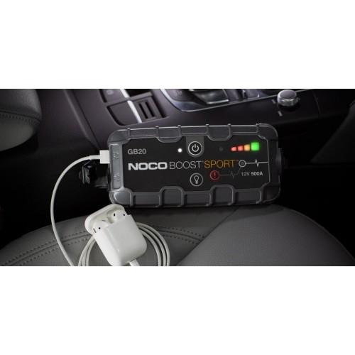 NOCO Εκκινητής λιθίου NOCO Boost Sport UltraSafe 500A GB20