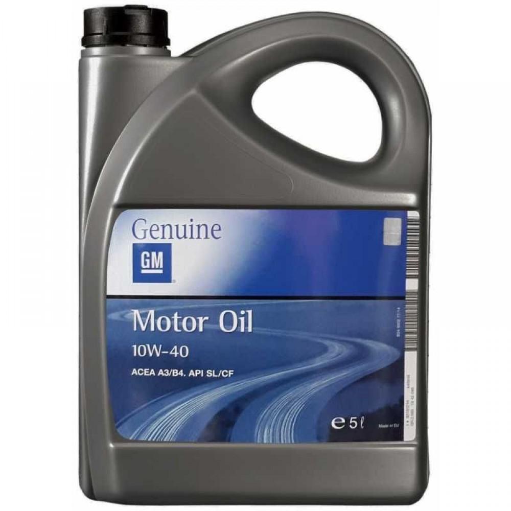 OPEL GM MOTOR OIL 10W-40 5L
