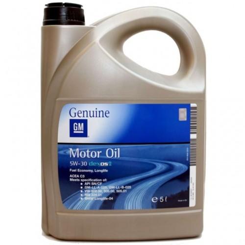 OPEL GM MOTOR OIL DEXOS 2 5W30 5L