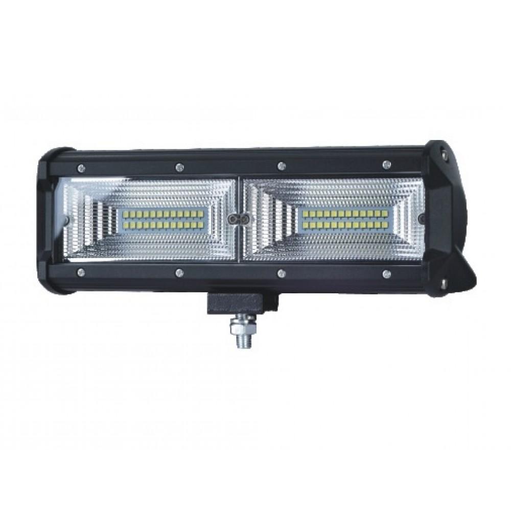 LED Μπάρα 144 Watt 10-30 Volt DC Ψυχρό Λευκό